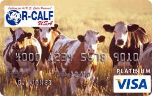 R-CALF USA Credit Cards