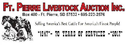 ftpierre livestock auction