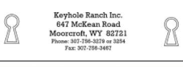 Keyhole Ranch