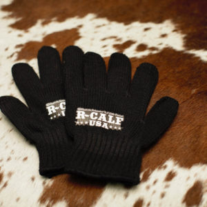 Black Poly Gloves