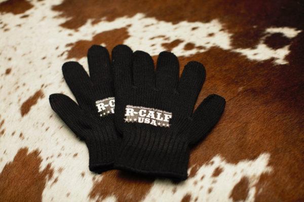 Black Poly Gloves