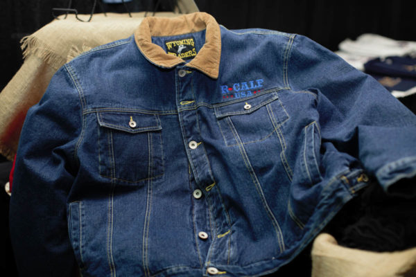 Jean Coat Front Pocket Demand USA Beef Embroidery Back