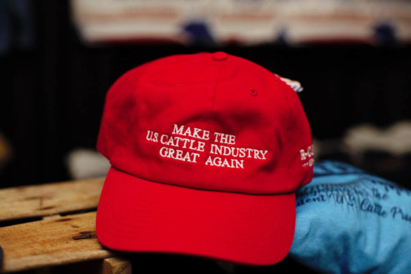 Make the USCattle Industry Great Again Red Low Profile Cap