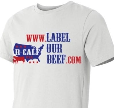 Label Our Beef Tee
