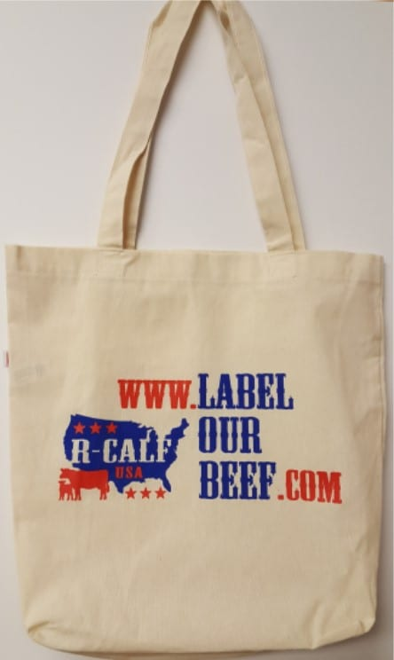 Label Our Beef Tote