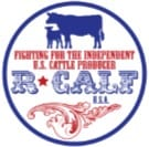 R-CALF USA Round Sticker