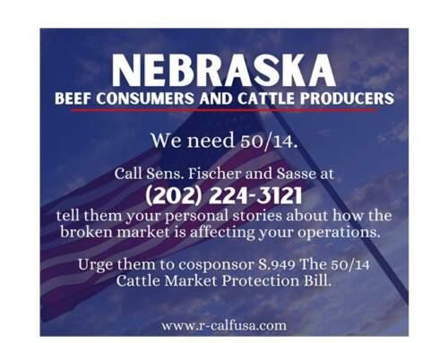 Action Alert Nebraska Holds Key to 50/14: Calls Needed!